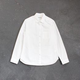 タイプライタースタンダードシャツ/WH