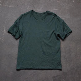dual-layered fabric tshirt/green