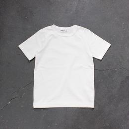 ラグラン半袖Tシャツ/WH