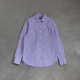 ストライプシャツ/blue×white×red