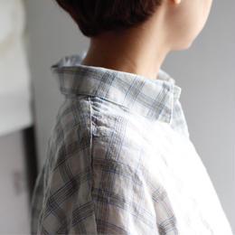 linen long summer shirt