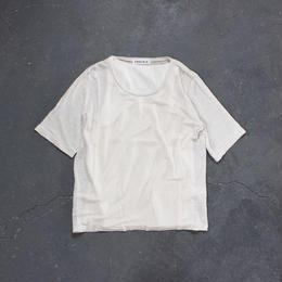 タンクトップ付き リネンTシャツ/KINARI