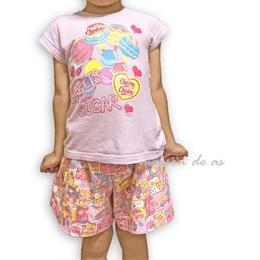 子供用キュロットパンツ(スカート)♡サイズ110【型紙ダウンロード販売】