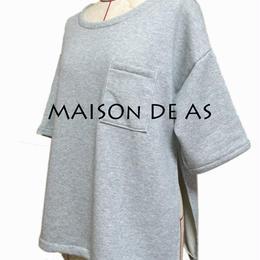 ポケット付きスウェットシャツ♡サイズM~L【型紙ダウンロード販売】
