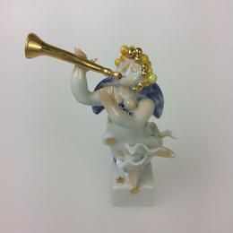 【マイセン】フィギュリンNo.61「天使の楽隊」インストリウム   900300/83339