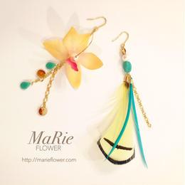 Flower accessory 【羽×蘭】