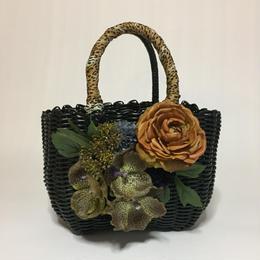 Flower Bag Black M      【パンダオーキッド/ カーキ】増量タイプ