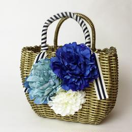 Flower Bag Gold M               [BLUE]
