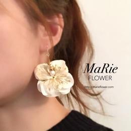 Flower accessory【キラキラ紫陽花 White】