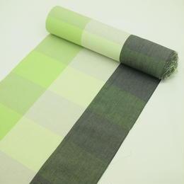 新緑や初秋を表せる色柄の伊勢木綿  反物  12
