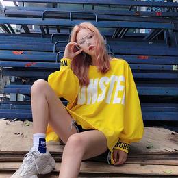 ビッグトレーナー❤袖がバカーンとバルーンで可愛い韓国オルチャン原宿系トップス! hdfks961682