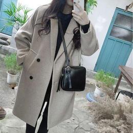 チェスターコート❤アウター ダブルボタンのジャケット型で可愛いコート hdfks961855