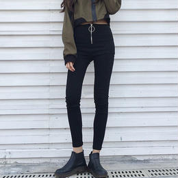 スキニーパンツ❤韓国ファッション人気の定番ブラックスキニー! hdfks961639