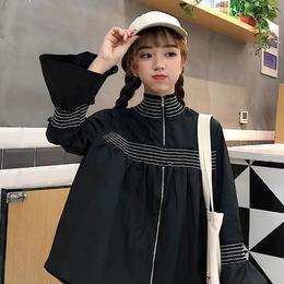 トップス❤袖フレアで韓国ファッションがカワイイブラウス♪ hdfks961020