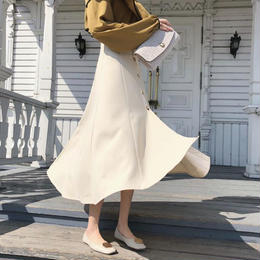 スカート❤ハイウエストで薄手な感じの春夏に最適な清楚綺麗なスカート hdfks961175