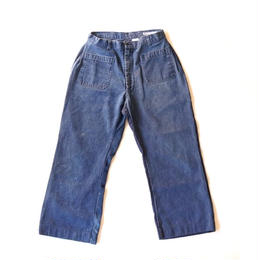 Sunny side up(サニーサイドアップ)/ ユーズドリメイク NAVAL PANTS size3(2)