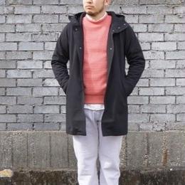 Jackman(ジャックマン) / Jersey Coat ジャージコート black