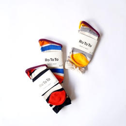 RoToTo(ロトト)/STRIPED WRAP SOCKS