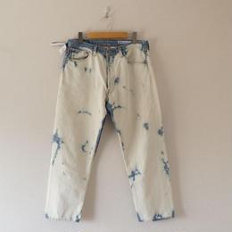 Sunny side up(サニーサイドアップ)/ remake bleach denim pants size3