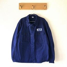 vintage euro work jacket herringbone エンブレム