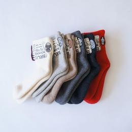 RoToTo × BRU NA BOINNE / Lucha Fisher's Socks S(23-25cm)