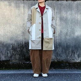 "Yoused (ユーズド)/  Vintage ""Burberry"" Remake Coat  (4)"