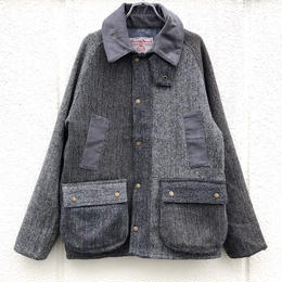 "【Yoused】Old Harris Tweed Remake Jacket ""BEDALE Type"" size M"