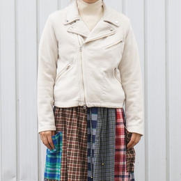 TIGRE BROCANTE(ティグルブロカンテ)/BD裏毛ライダースジャケット