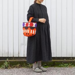 UNIVERSAL TISSU (ユニバーサルティシュ)/リネンギャザープリーツシャツドレス クロ