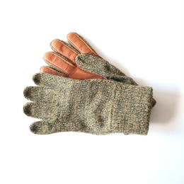 NEWBERRY KNITTING (ニューベリー ニッティング)/Deerskin Plam Wool Glove Jungle