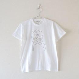 weac.(ウィーク)/Honky Tonk プリントTシャツ ~LALALA LOVE TIGER~