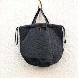 QUILTING PATIENTS BAG NAPRON/ charcoal