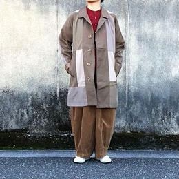 "Yoused (ユーズド)/  Vintage ""Burberry"" Remake Coat  (7)"
