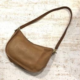 old coach shoulder bag USA製 ブラウン