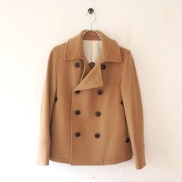 15jyugo(ジュウゴ)/tsukiji coat(wool ヘリンボーンPコート)