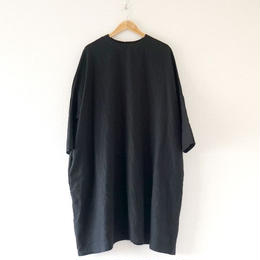 UNIVERSAL TISSU (ユニバーサルティシュ)/ Japan Linen ギャバBIF OP Black