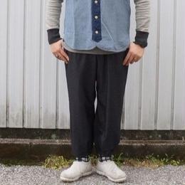 Jackman(ジャックマン) / Stretch BB Trousers ヘザーブラック