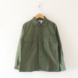 Sunny side up(サニーサイドアップ)/  ユーズドリメイク 6for1 ファティーグシャツ