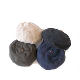 HIGHER(ハイヤー)/ヴィンテージリネンベレー帽
