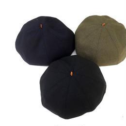 HIGHER(ハイヤー)/ドビーメルトンベレー帽 DOBBY MELTON BELLET