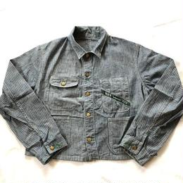 60S Key engineer jacket herringbone