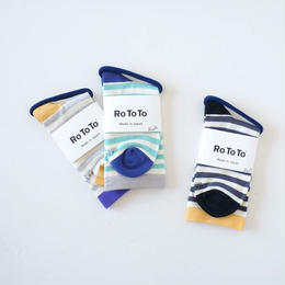 RoToTo(ロトト)/STRIPE MOCCHILY SOCKS