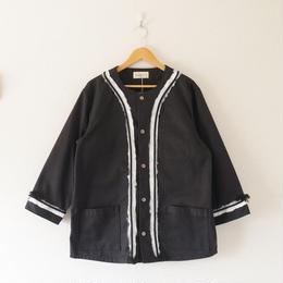 mastrkey(マスターキー)/ LOOP-J ベースボールシャツ ブラック