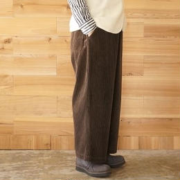 CAERULA (カエルラ)/ stripe corduroy easy hook pants