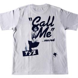 """Kewl Store 別注 アンヌ×MasiRlou """" Call Me """"Tシャツ"""