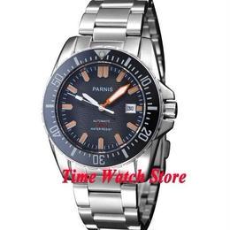 Parnis 自動巻き 機械式腕時計 メンズ  ダイバー 43mm 200m防水 日本ミヨタ製ムーブメント サファイアガラス