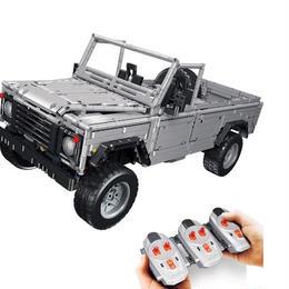 レゴ(LEGO)互換 ランドローバー ディフェンダー風 mocテクニックシリーズ SUV ビルディングブロック