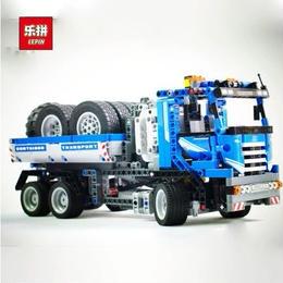 レゴ(LEGO)互換 コンテナトラック 8052相当