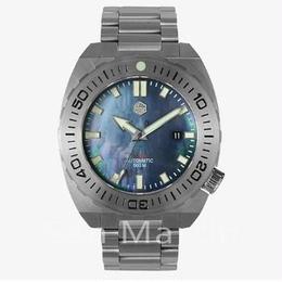 San Martin 自動巻腕時計 500m防水 メンズ 45mm ダイビング