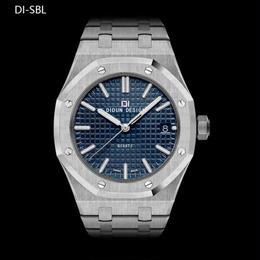 DIDUN  クォーツ腕時計 メンズ 高級 ミリタリー ステンレス カラバリ12色